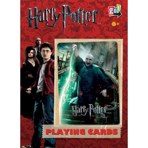 Harry Vs Voldemort Double Deck of Playing Cards - Go! Games
