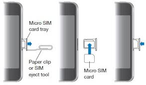 How To Insert SIM Card in iPhone 4 iPhone 4S iPhone 5