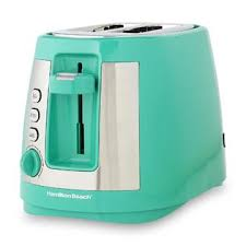 Hamilton Beach Brands Inc 22813 Ensemble Extra Wide Green 2 Slice Toaster