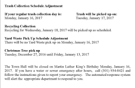 Baltimore County Christmas Tree Pickup Schedule by Town Of La Plata Townoflaplata Twitter