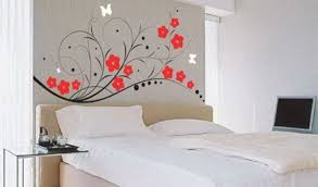 wandtattoo blumen schlafzimmer wandtattoo wall decor