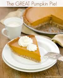 Keeping Pumpkin Pie From Cracking by The Great Vegan Pumpkin Pie Vegan Oil Free Soy Free Gluten Free