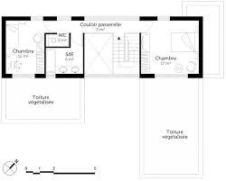 plan maison en u avec piscine ooreka