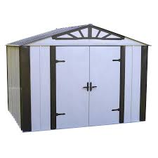 Arrow Metal Shed Floor Kit by Shop Arrow Common 10 Ft X 8 Ft Interior Dimensions 9 8500 Ft X