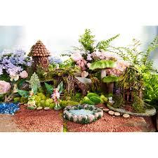 Disney Fairy Garden Decor by Woodland Village Fairy Garden