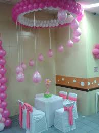 Hanging Above Table Balloon Decoration Chandelier