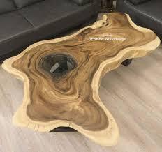 der tischonkel tischplatte für wohnzimmertisch baumscheibe