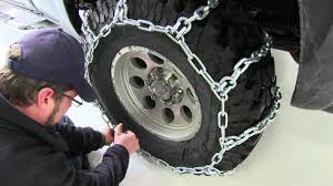 7 Steps Guide On How To Put Snow Chains - Autos On The