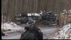 Coroner ID's Victim Of Accident Near New Tripoli - WFMZ Overturned Propane Delivery Truck Towed From Accident Scene See Propane Truck Closes Road For Hours First State Update Overturns Into Ditch Off Manor Township Road Local In Rollover East Of Ellsworth River Falls Journal Car Burns Next To Tank After Crashing Freeway One Injured Tanker On Hwy 61 Monday I40 Oklahoma Blocked Leads Fire Crash Blocks County Fire Finally Out Fmcsa Rescinds Exemption Allowing Truckers Drive Longer Viral Video Explodes Highway Insane Fireball Driver News Wincheerstarcom
