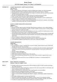 Download Computer Science Resume Sample As Image File