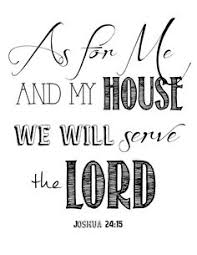Free Printable Bible Verses Artwork As For Me And My House Ourtennesseehome