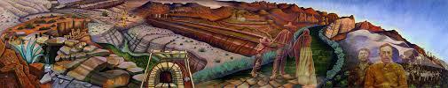 Denver International Airport Murals Horse by Memoria De Nuestra Tierra 2001 Sparcinla