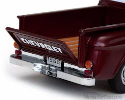 1965 Chevy C-10 Stepside Pickup Truck, Maroon - Sun Star 1391 - 1/18 ... 1965 Chevy Truck Flowmasters Sound Good Youtube Chevrolet C10 Volo Auto Museum Chevy Coe Pickup Scaledworld First Gen A Flawless Transformation Fuel Curve Apache Stepside Eric Lmc Truck Life Chevy Short Bed Step Side Patina Paint Hotrod Restomod Shop Short Bed Step Side Kenny H Great Rust Free Patina Paint Pickups Panels Vans Modified Oxford Chevrolet Blue Diecast Metal 187