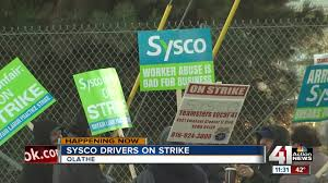 Delivery Drivers At Olathe Sysco Facility Go On Strike To Push For ... Robbie Bringard Vp Of Operations Sysco Las Vegas Linkedin 2017 Annual Report Tesla Semi Orders Boom As Anheerbusch And Order 90 Teamsters Local 355 News Fuel Surcharge Class Action Settlement Jkc Trucking Inc Progress Magazine September 2018 By Modesto Chamber Commerce Jobs Wwwtopsimagescom Asian Foods California Utility Seeks Approval To Build Electric Truck Charging