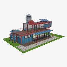 Highrise Residential Building 3D Model