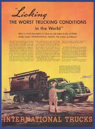 Vintage 1937 INTERNATIONAL TRUCKS International Harvester Truck ...