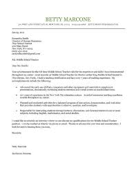 Gallery of sample teacher cover letter example 12 free