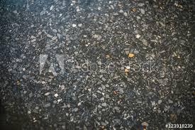 Terrazzo Floor Texture Background Pattern With Black Edge