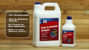 Zep Floor Finish For Stained Concrete by Blue Bear Paint U0026 Urethane Stripper Youtube