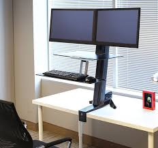Monitor Stands For Desks Nz by Standing Desks And Stand Up Desk Converters Ergotron