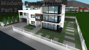 100 Modern House 3 Lets Build Bloxburg Family Home Part