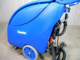 Clarke Floor Scrubber Batteries by Used Clarke 17 Inch Vantage Floor Scrubber Autoscrubber W Built In