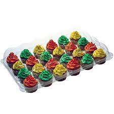 OccasionWise Premium Cupcake Carrier Holds 24 Standard Cupcakes