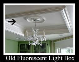 image of kitchen recessed fluorescent light box also pendulum