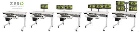 Kangaroo Standing Desk Dual Monitor by Table Personable Kangaroo Pro Junior Adjustable Height Desk Ergo