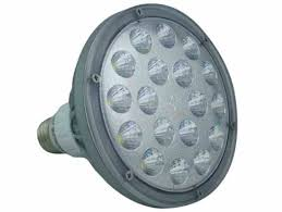 25 Watt LED PAR 38 Spot Flood Light 2500 Lumens Dimmable by