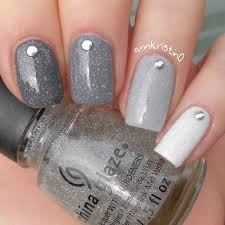 Lovely Grey Nail Designs Collection Nail Design & Art