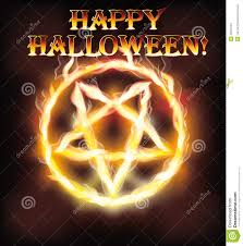 Is Halloween A Satanic Holiday by Fire Happy Halloween Pentagram Stock Vector Image 45373161