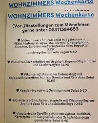 wohnzimmer cafe dortmund restaurant menu and reviews