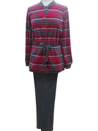 robe de chambre canat femme pyjama en velours city canat canat mauve boutique de