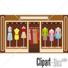 Clothing Store Front Clipart