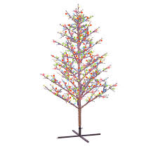 8ft Christmas Tree shop ge 8 ft pre lit winterberry artificial christmas tree with