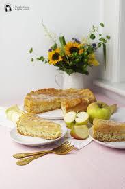 einfacher apfel zimt kuchen mit biskuitteig