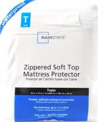 mainstays zippered waterproof peva mattress protector walmart com
