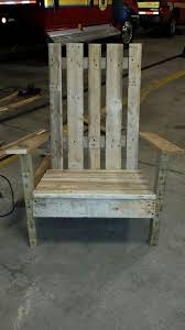Pallet Adirondack Chair Plans by Pallet Adirondack Chair 9 Steps With Pictures