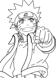Spirit Of Naruto Coloring Pages