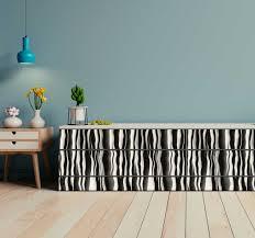 aufkleber für küchengeräte zebra optik möbel