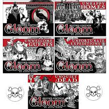 100 Keith Baker Homes Gloom Card Game Bundle Of Gloom Unhappy Homes Unwelcome Guests