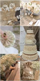 Rustic Burlap And Lace Wedding Ideas