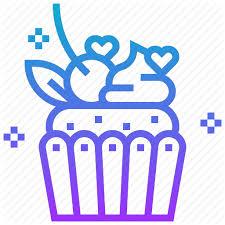 Break Cupcake Dessert Muffin Sweets Icon