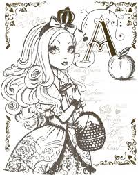 Website Inspiration Ever After High Coloring Pages