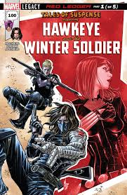Tales Of Suspense 100 Hawkeye And Bucky Barnes Winter Soldier Part 1