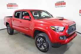 New 2018 Toyota Tacoma TRD Sport Double Cab Pickup In Escondido ... Preowned 2017 Toyota Tacoma Trd Sport Crew Cab Pickup In Lexington 2wd San Truck Waukesha 23557a 2018 Charlotte Xr5351 Used With Lift Kit 4 Door New 2019 4wd Boston Gloucester Grande Prairie Alberta Sport 35l V6 4x4 Double Certified 2016 Escondido