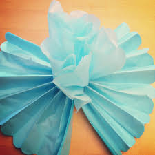 DIY Giant Tissue Paper Flowers Tutorial 2 For 100 Make Beautiful Birthday Party Decorations Step 7