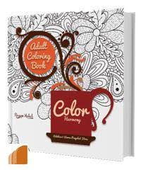 Adult Coloring Book Color Harmony