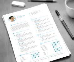 Envato Resume Design TemplateResume